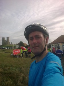 Reculver 2nd stop off point - bike ride